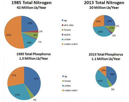 Nitrogen and Phosphorus by Source